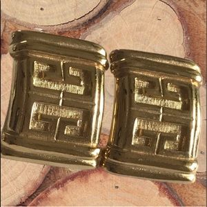 Authentic Givenchy Gold Earrings